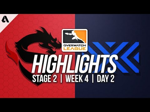 Shanghai Dragons vs New York Excelsior | Overwatch League Highlights OWL Stage 2 Week 4 Day 2