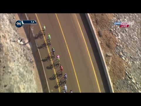 Stage 3 - Dubai Tour 2014 - team Cannondale and Sagan in action