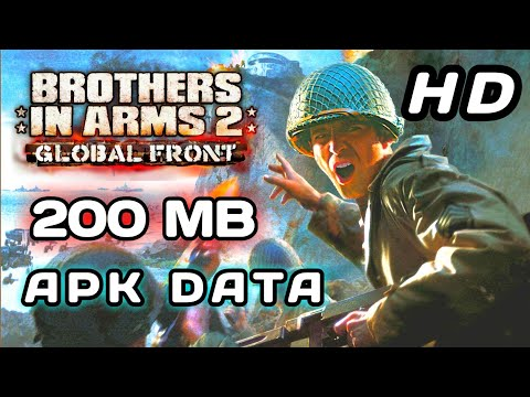brothers in arms 2 global front apk+data