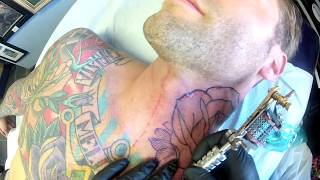 Neck tattoo point of view
