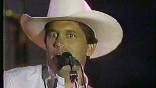 George Strait -- There stands the Glass