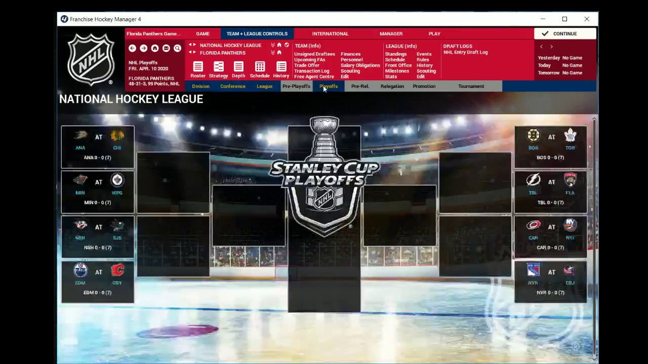 Nhl Playoff Schedule 2020.2019 2020 Florida Panthers Franchise Part 13 Playoffs