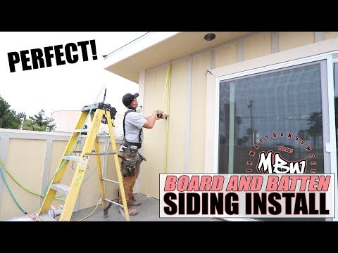 board-and-batten-siding-installation:-going-around-stairs!