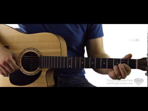 Neon Light - Guitar Lesson and Tutorial - Blake Shelton