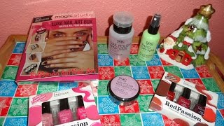 Review: IDC Color y AQC Beauty Salon (Luxe Nail Art Box, Red and Pink Passion,etc | El Mundo del N