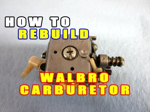 HOW-TO Rebuild A 2 Cycle Chainsaw Carburetor