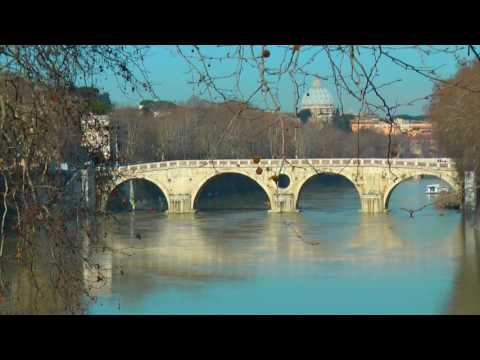 Tiber River Walk in Rome