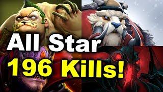 All Star CRAZY Match - 196 Kills Bloodbath! - The Final Match DOTA 2