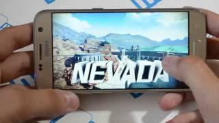 корейская 100 копия Samsung Galaxy S7 - тест игры ASPHALT 8