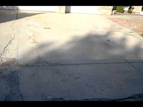 Concrete Driveway Spalling Repair Denver Youtube