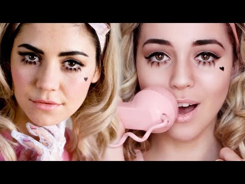 Electra Heart/Marina and the Diamonds Transformation Makeup Tutorial