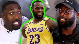 Is LeBron James The BEST He's Ever Been NOW? Gilbert Arenas & Dwyane Wade Discuss Lakers LeBron