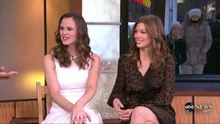Jessica Biel and Jennifer Garner - Good Morning America February 10, 2010