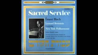 Ernest Bloch-- Sacred Service 1,2,3MOV, Leonard Bernstein