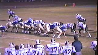 1991 Porterville High School vs Monache High School East Yosemite League Championship Football game