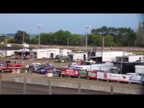 Hobby Stock Heat 1 @ Buena Vista Raceway 08/09/17