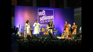 Live Music performance by artists in ' Rally for Rivers' | Nadi Abhiyan | India's Life Line