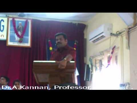 Pattimandram By Dr.A.Kannan, KLNCE In The Founder's Day Festival On 02.01.2014