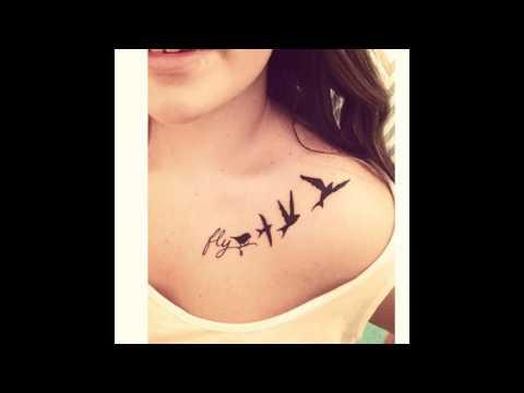 Tatuajes en la Clavícula para Mujeres