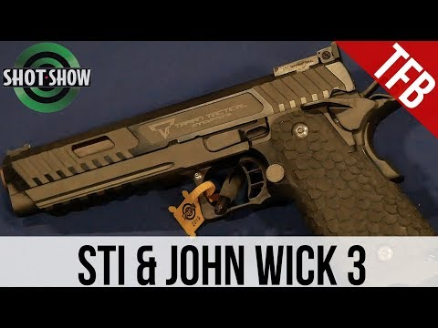 Shot Show 2019 Sti Guns In John Wick 3 New Duty Pistol Youtube