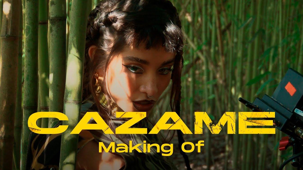 Maria Becerra, Tiago PZK | Making Of: CAZAME