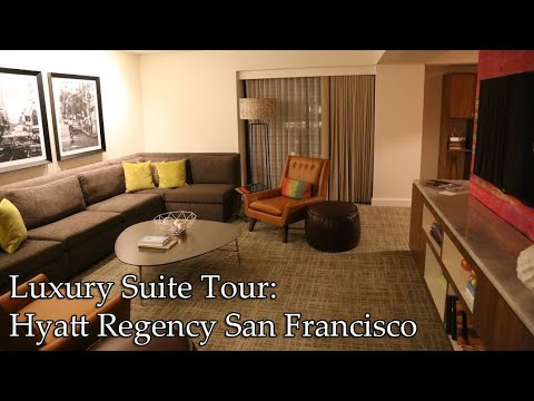 Hyatt Regency San Francisco Luxury Suite Tour