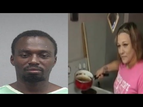 Ratchet FL~Woman finds a man inside her home TURNING UP, frying chicken🍗 & drinking vodka