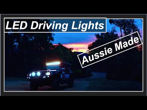 LED Driving Lights 4x4 - (Top Quality All Australian Made)