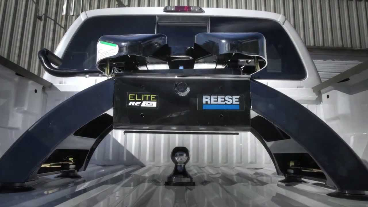 Reese 174 Pre Assembled 25k Elite Fifth Wheel Hitch Youtube