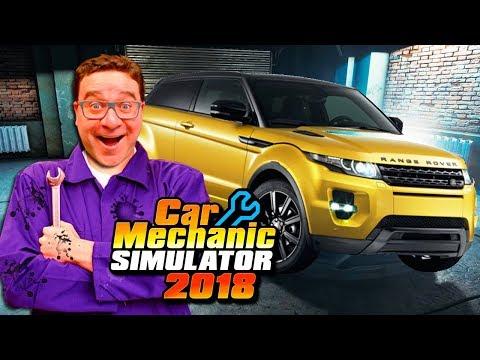 RANGE ROVER EVOQUE MUITO BARULHENTO   #10   Car Mechanic Simulator 2018