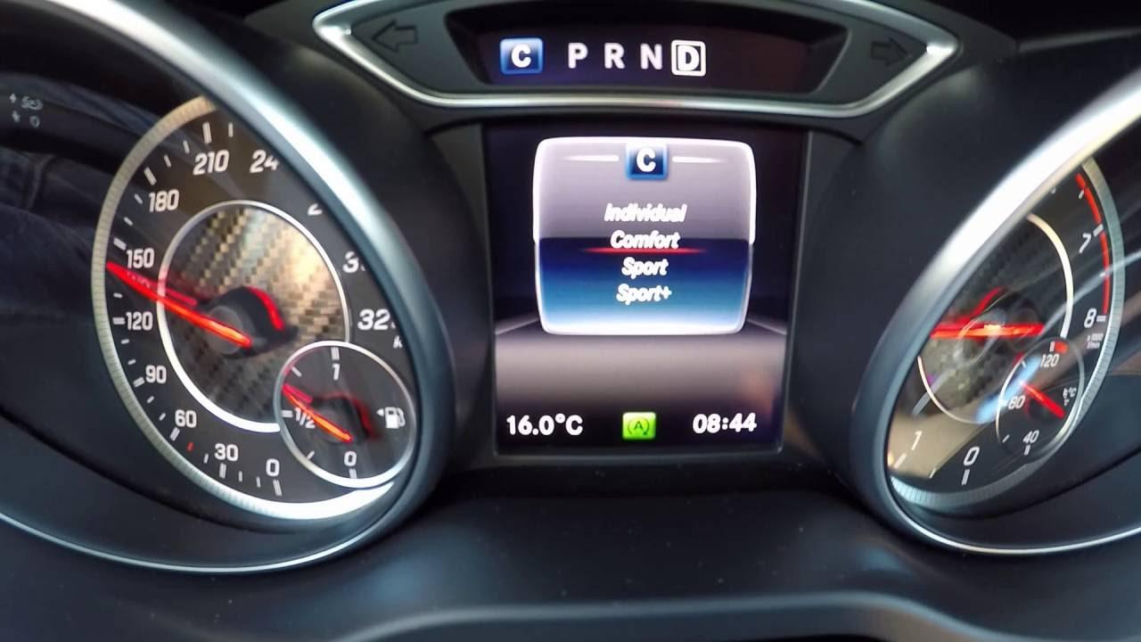 mercedes amg a45 fuel consumption / verbrauch autobahn & gerede