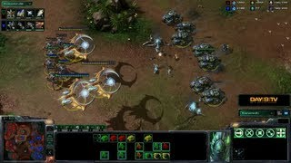 StarCraft II: Heart of the Swarm - Battle Report (Protoss vs Terran)