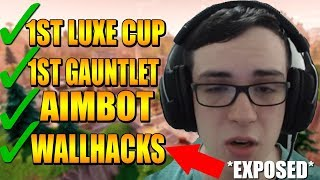 #1 Ranked Fortnite Pro With 500k Subs Caught HACKING!