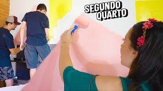 DIÁRIO DA REFORMA#4 - PAREDE GEOMÉTRICA