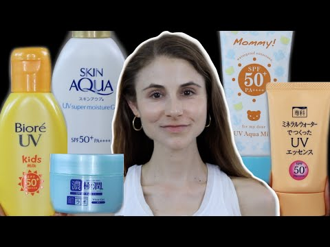Top 5 Japanese Sunscreens For Oily, Dry, Sensitive, & Acne Prone Skin  Dr Dray
