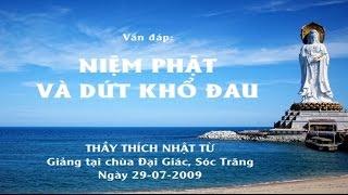Vấn đáp: Niệm Phật và dứt khổ đau (29-07-2009) | Thích Nhật Từ