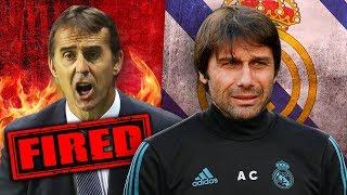 REVEALED: Real Madrid To SACK Julen Lopetegui For Antonio Conte!? | Futbol Mundial
