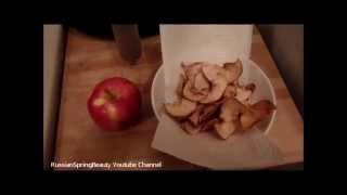 Baking Crunchy Apple Chips With Philips Airfryer - Sweet Crispy Snack!