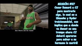 ¡La traición de Smooke y Ryder!(GTA San Andreas) / Misiones 26 y 27