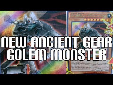 New Ancient Gear Golem - Ultimate Pound : New Version of Ancient Gear Golem  with OTK Effect!