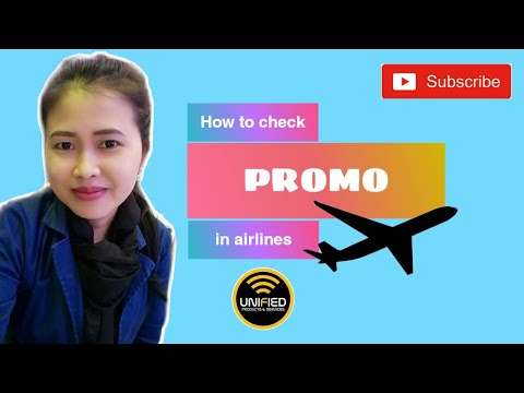 How To Check PROMO In Airlines