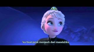 Frozen - Let it Go - Indonesian (HQ/ Dengan Lirik)