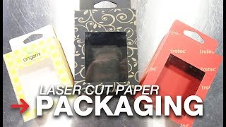 Laser Cut Packaging | Create your own packaging | Laser cut paper