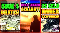 🙌Alle Neuen Inhalte!🙌 500K Gratis! GTA 6 Leaker Gebannt! + Mehr! [GTA 5 Online Casino Heist Update]
