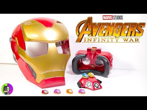 "Avengers Infinity War ""HERO VISION IRON MAN HELMET"" by Hasbro Unbox"