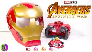 "Avengers Infinity War ""HERO VISION IRON MAN HELMET"" by Hasbro Unbox"