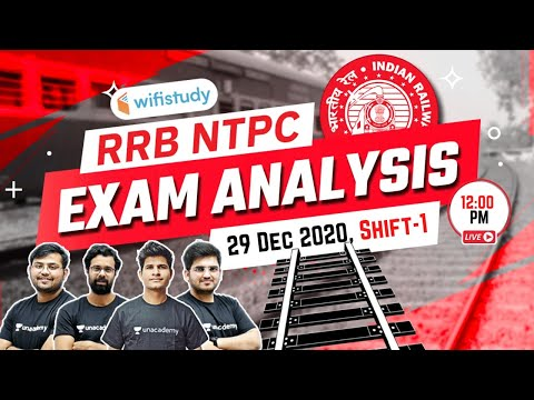 12:00 PM - RRB NTPC (29 December 2020, Shift 1st) | NTPC Exam Analysis & Asked Questions thumbnail