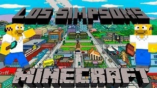 Minecraft Los Simpsons