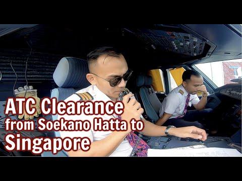 Daily Vlog 97 - ATC Clearance from Soekarno Hatta Jakarta to Singapore