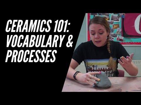 Ceramics 101: Clay Vocabulary And Processes